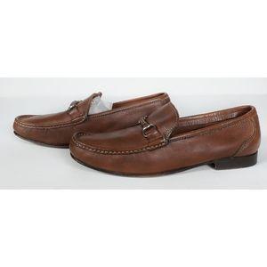 Sandro Moscoloni Sorrento Leather Horsebit Loafer